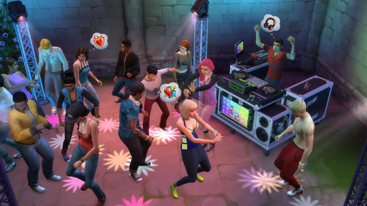 The sims 4: vampires game pack (2017) минимальные и.